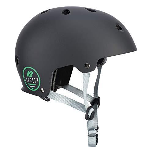 K2 Damen Herren Inline Skates Helm VARSITY - Schwarz - M (55-58cm) - 30D4105.1.1.M