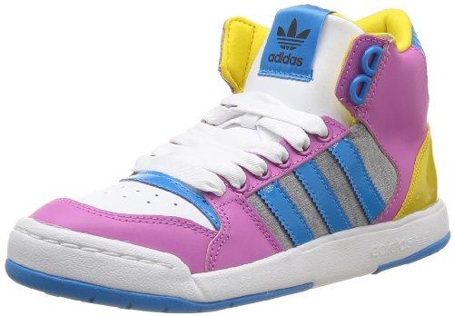 adidas Originals Midiru Court Mid 2.0 W, Baskets mode Femme Violet (Orcpla/Blesol/Jautri) 37 1/3 EU