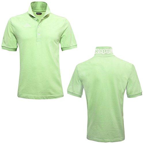 Kappa Poloshirt Pastel Green-AntWhit
