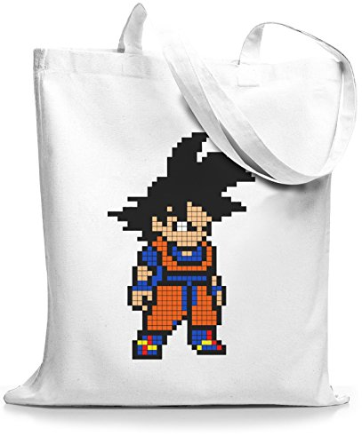 Stylobags Juta Borsa / Borsa Pixel Goku Bianco