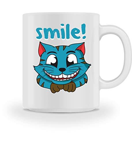 Affiliate.Inc Lustiges Katzendesign Katzenliebhaber Kätzchen Kitty Perser Katze Siam Main Coon Kitty - Tasse -M-Weiß -