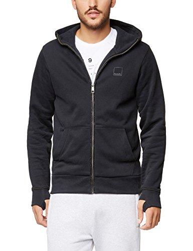 Bench Herren CORE. Sweat Zip Jacket Sweatshirt, Schwarz (Black Beauty Bk11179), XX-Large Core Zip-hoody