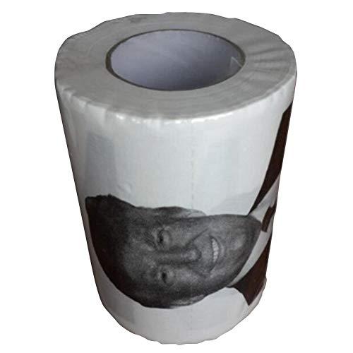 Spoof Bedrucktes Tissue Donald Trump bedruckte Toilettenpapier