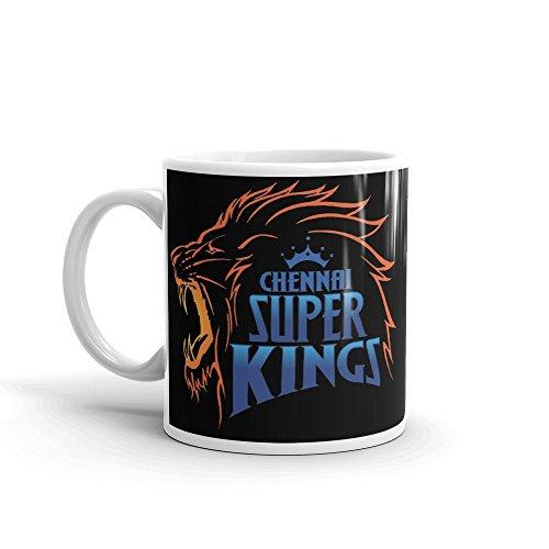 Grabdeal Chennai Super Kings Coffee mug For IPL Team – Printed Ceramic Mugs -AIA:675