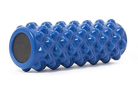 ProSource Ultra Firm Bullet Sports Medicine Massage Roller, Blue