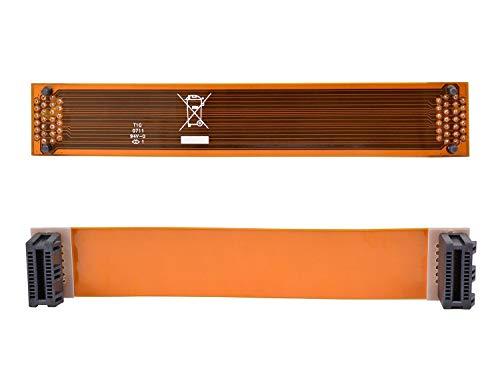 Kyerivs - Conector Flexible para Tarjeta Gráfica Nvidia de 3 Ranuras ASUS SLI, 120 mm