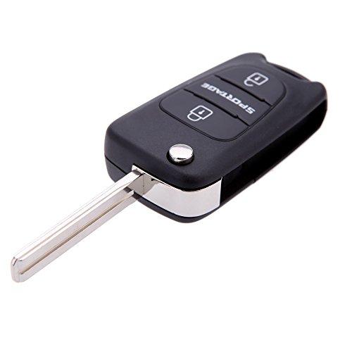 lesuzzatm-flip-fob-remote-car-key-shell-fit-for-kia-sportage-2-button-key-replacement-keyless-uncut-