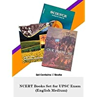 NCERT 40 Books Set for UPSC Exams (English Medium)