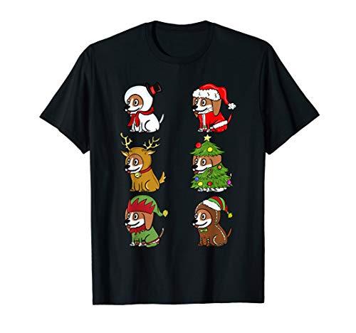 Lustige Beagle Kostüm - Beagle Xmas Kostüme Lustiger Hund Weihnachten Geschenk  T-Shirt