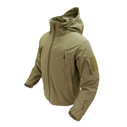 Condor Outdoor SUMMIT Soft Shell Jacket Tan (Soft-shell Outdoor)