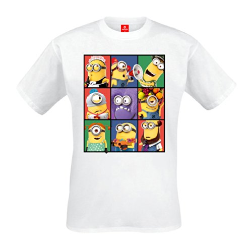 Gru, mi villano favorito - camiseta de minions - película de animación...