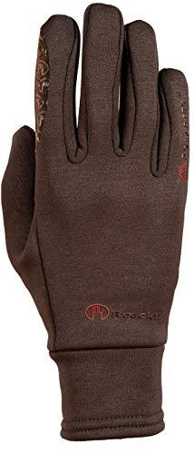 Roeckl Sports Winter Handschuh Warwick Unisex Reithandschuh, Mokka, 7,5