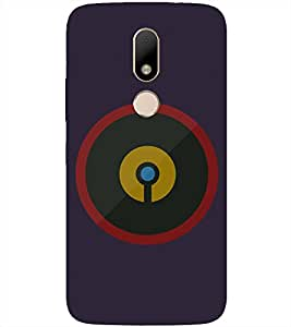 Pattern Printed Back Cover for Moto M