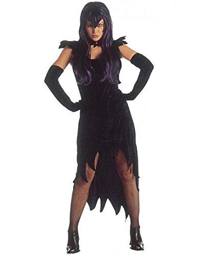 WIDMANN wdm35322–Kostüm für Erwachsene Dark Mistress aus Samt, Schwarz, M