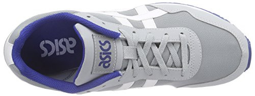 ASICS Curreo - Scarpe da Ginnastica Basse Unisex – Adulto, Bianco (white/light Grey 0113), 44 EU Grigio (light Grey/white 1301)