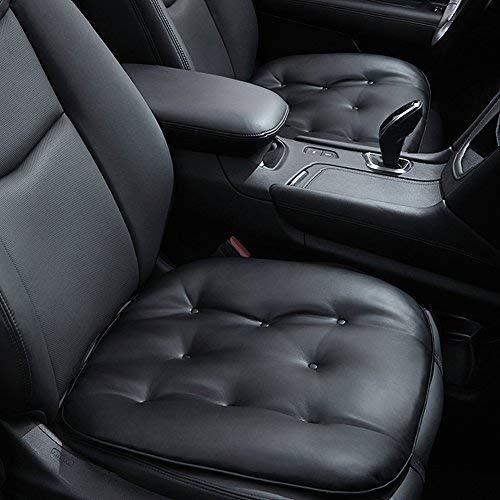 Big Ant Autositzkissen - weiche Sitzauflagen, Komfortables Sitzkissen für Home Office Reise Universal Auto Sitzbezüge, schwarz