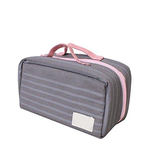 &ZHOU weibliche Handtasche Leinwand Großraum-Messenger Mode Freizeit Messenger bag Brown