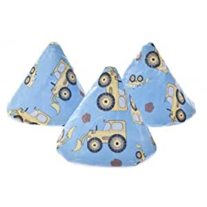 Fully machine washable The Peepee Teepee for the Sprinkling WeeWee in Cellophane Bag - Digger Blue Baby / Child / Infant / Kid