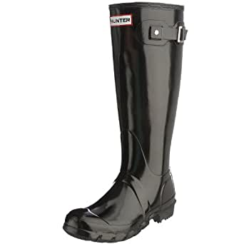Hunter Original Tall Wellies W23499 (3 UK, Black Gloss)