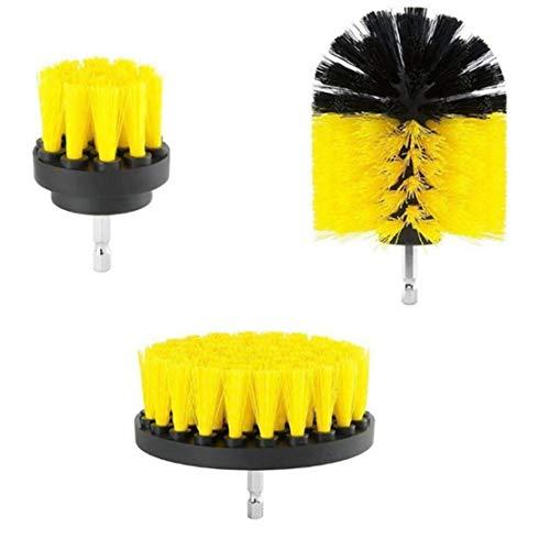 rtel Power Scrubber Reinigungsbürste Wannenreiniger Combo Tool Kit (Gelb) ()