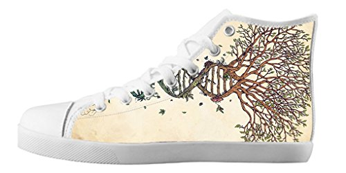 Dalliy Tree of Life Baum des Lebens Kids Canvas shoes Schuhe Lace-up High-top Footwear Sneakers C