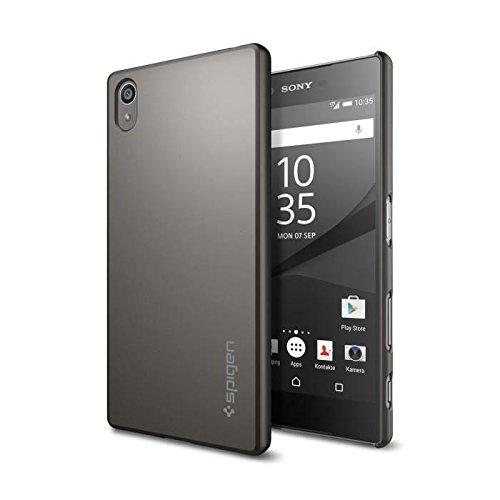 Spigen Sony Xperia Z5 Case Thin Fit Gunmetal SGP11804