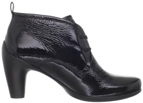 Ecco Sculptured 65 233533, Bottines Pour Femme Noires (schwarz (noir / Lack 04001))