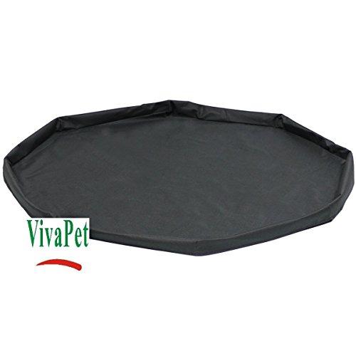 VivaPet Kleine Kaninchen/Meerschweinchen Käfig Wasserdicht Boden Matte, Boden Basis (8-seitige, 86,4cm)