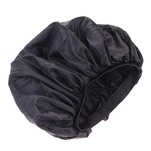 SUPVOX Gorro Dormir Satén Mujeres Niñas Negro Talla
