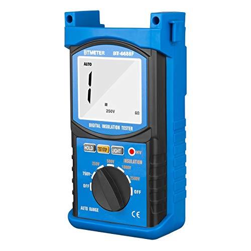 Ballylelly-HoldPeak 6688F Digita Isolationswiderstand Tester Widerstandsmessgeräte von Ballylyly