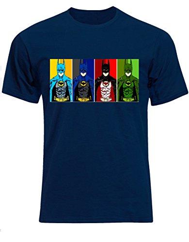 Fruit of the Loom  Herren T-Shirt Blau - Navy