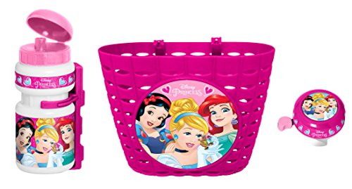 Stamp k887508 drum set + bell + bicycle basket girl, pink