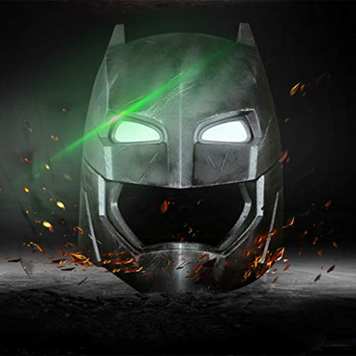 K-Flame Rollenspiel Batman Taktische Helm mit Lichter Erwachsene Themen Party Kostüm Zubehör Halloween Cosplay Prop