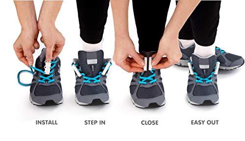 zubits Magnetische Schuhbinder Verschlusssystem für Schuhe und Schnürsenkel Das Original