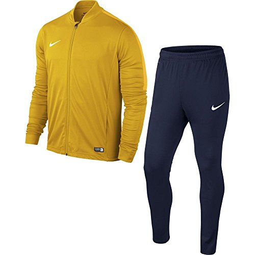 Nike Academy16 Yth Knt Tracksuit 2, Chandal Infantil, Amarillo (University Gold/Obsidian/White), talla...