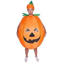 Idea Regalo - Bodysocks® Costume Gonfiabile da Zucca per Adulti