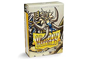 Dragon Shield AT-11117 - Mangas de tamaño japonés Mate (60 Unidades), Color Marfil