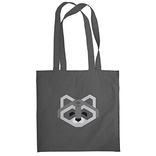 Texlab–Simple Raccoon–sacchetto di stoffa Grau