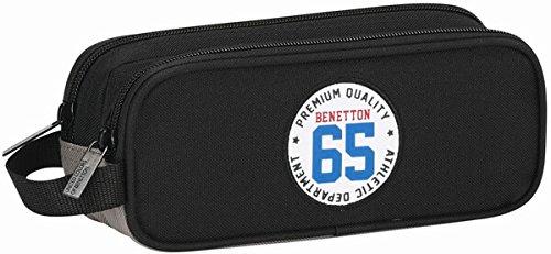 Benetton- Estuche portatodo Triple (SAFTA 811606513)
