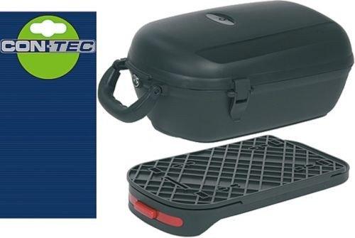 CONTEC gepäckträgerbox cargo plus amovible-noir-dimensions: 25 cm l36, 5 x 5 cm, 5 x 17 cm, volume: chaîne