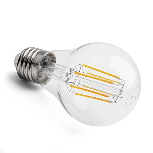 E27 LED Glühfaden Birne 8w COB extra warmweiß ~70w Glühbirne SOFT-LED