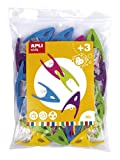 APLI Kids - Pinzas de plástico 30 uds.