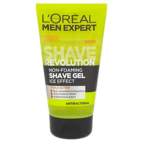 L'Oreal Men Expert Shave Revolution Non-Foaming Shave Gel Ice Effect - 150 ml