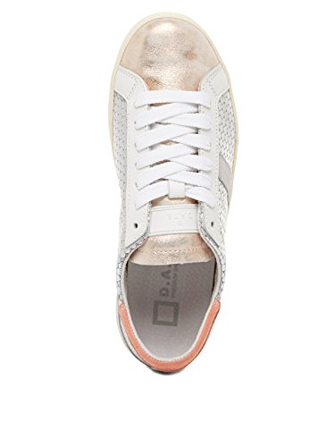 D.A.T.E. HILL LOW PONG W SILVER/PINK Argento