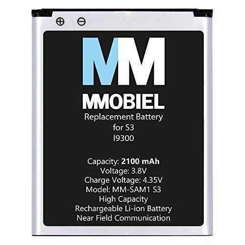 MMOBIEL Repuesto de Batería Compatible con Samsung Galaxy S3 I9300 4.8 Pulg...