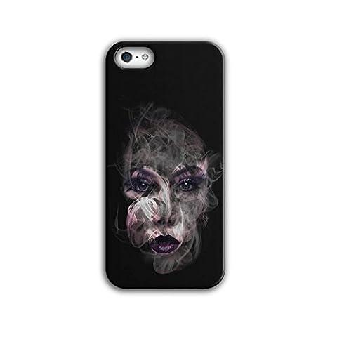 Mystère Fille Cool Mode Fille Visage 3D iPhone 5 /