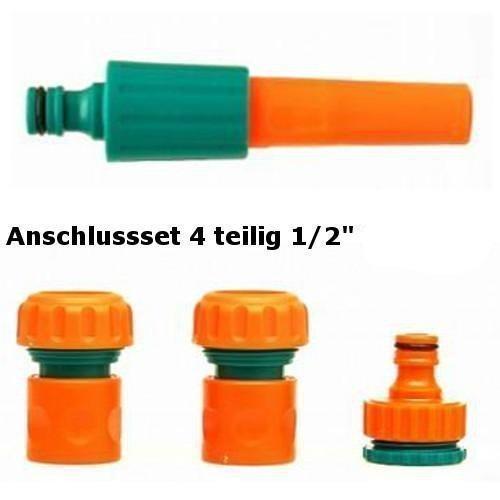 '' FLO 89203–4pcs Set (avec adaptateur pour tuyaux de robinet 3/4 et 1 de base)
