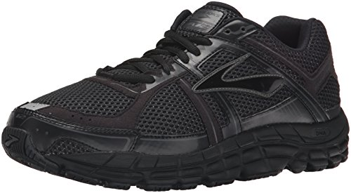 brooks Addiction 12, Zapatos para Correr para Hombre, Multicolor (Black/Anthracite), 40 EU