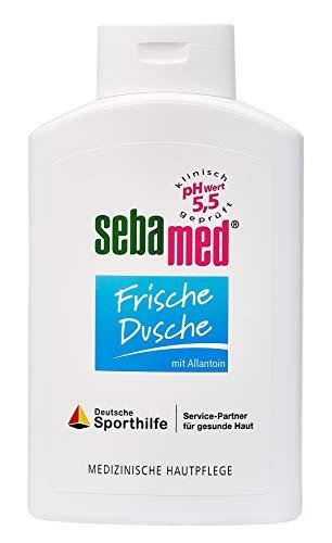 Sebamed Frische Dusche | Duschgel für empfindliche und strapazierte Haut, langanhaltendes Frischegefühl | versorgt die Haut mit Feuchtigkeit durch Aminosäuren und Allantoin | Männer & Frauen (400 ml) -