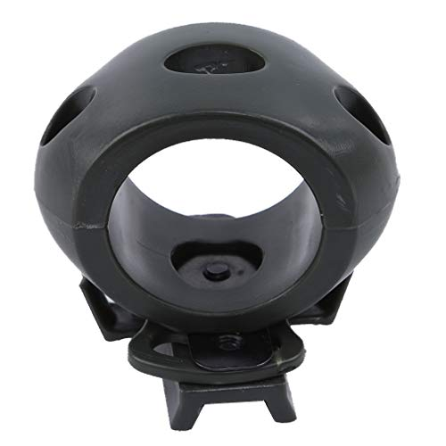 Yinew Helm Taschenlampe Halter Schnellspanner Taschenlampe Klemmhalter Halterung Taktische Helm Zubehör Für FAST MICH IBH Helm, Grün -